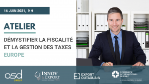 formation gestion des taxes Europe