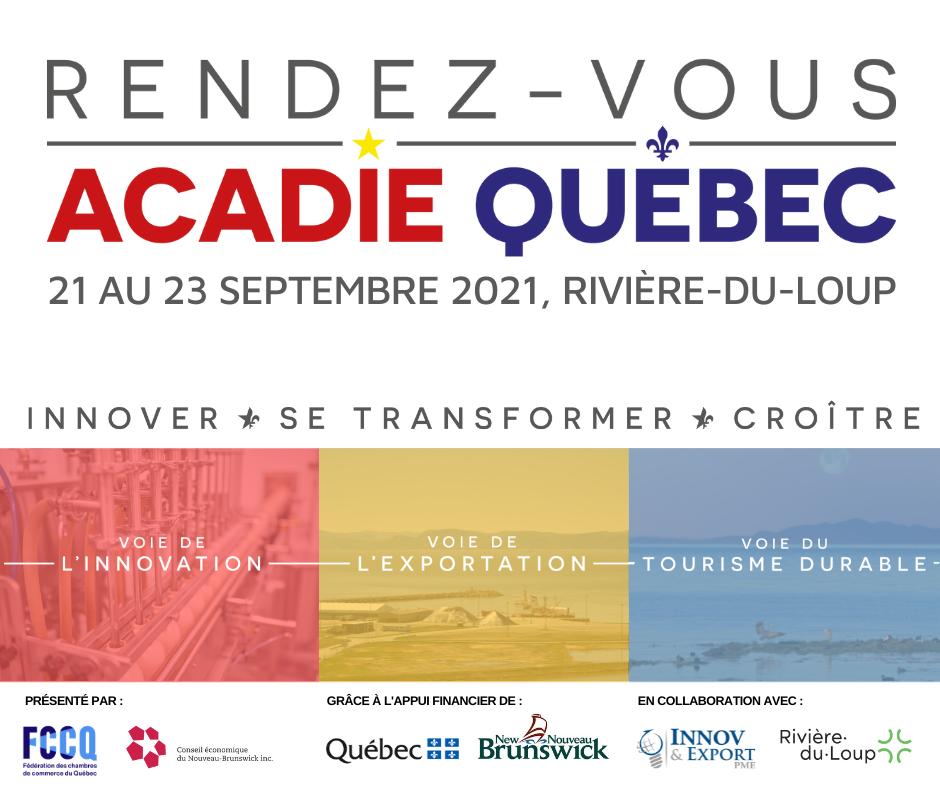 visuel Rendez-vous Acadie-Québec